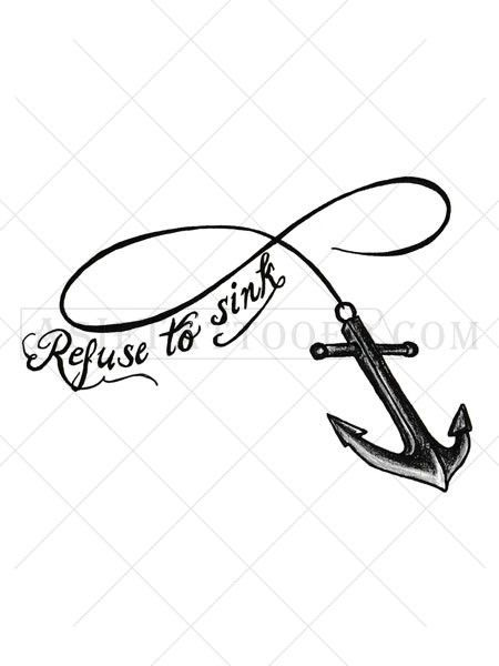 Infinity Anchor Tattoo Tattoo Shoulder Ankle Tattoos And Anchor