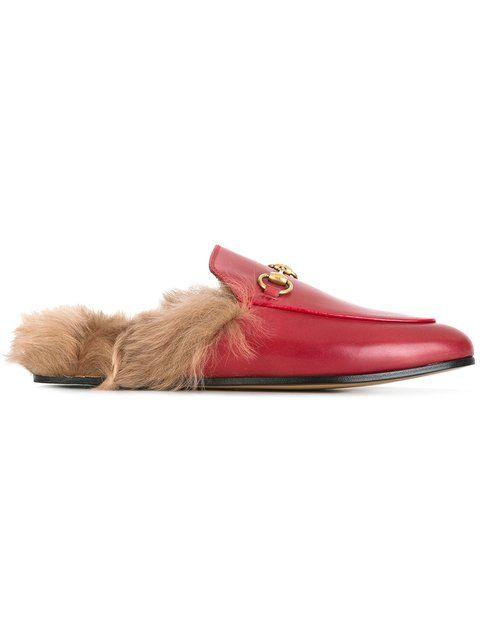 579efd505b1 GUCCI fur insole mules.  gucci  shoes  sandals