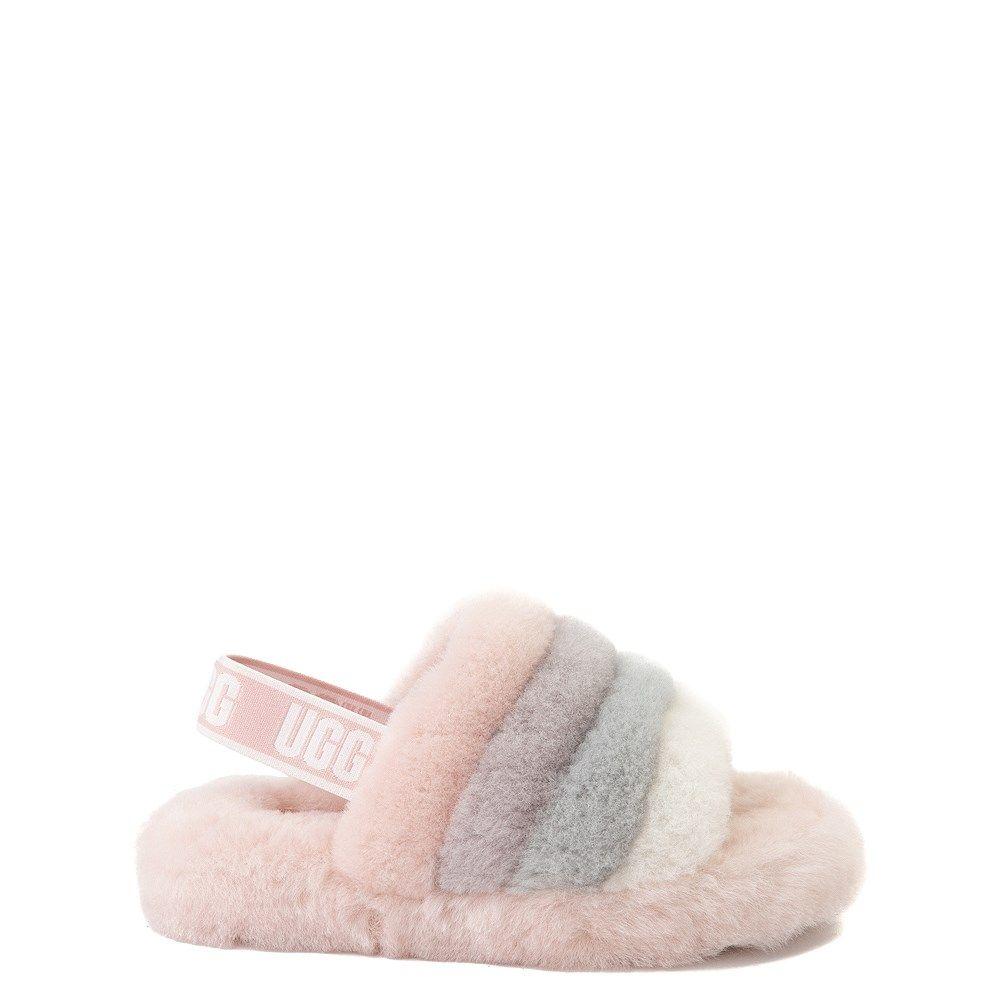 UGG® Fluff Yeah Slide Sandal - Little