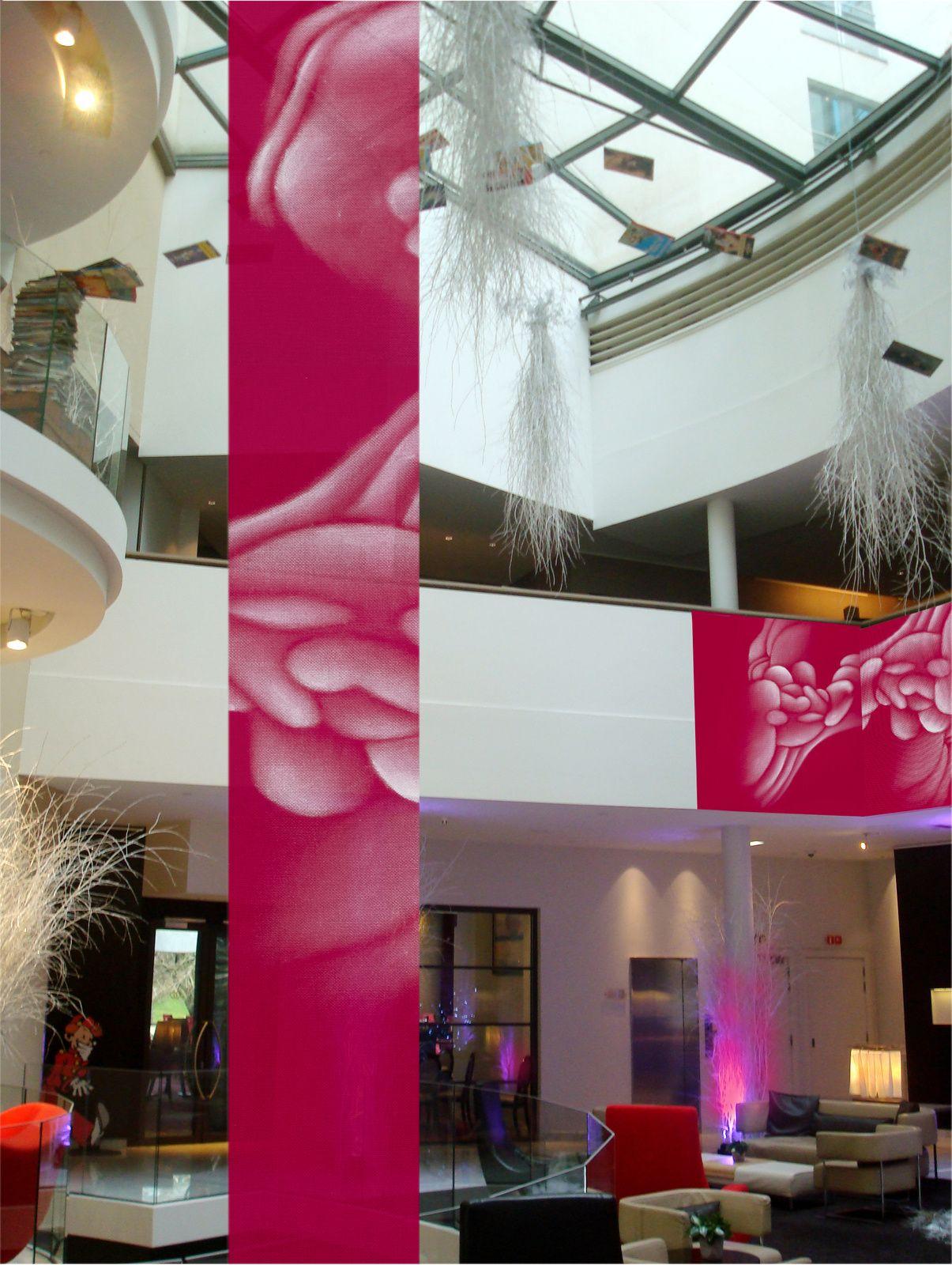 Sofitel Brussels Europe hotel presents aGuillaume Bottazzi's installation
