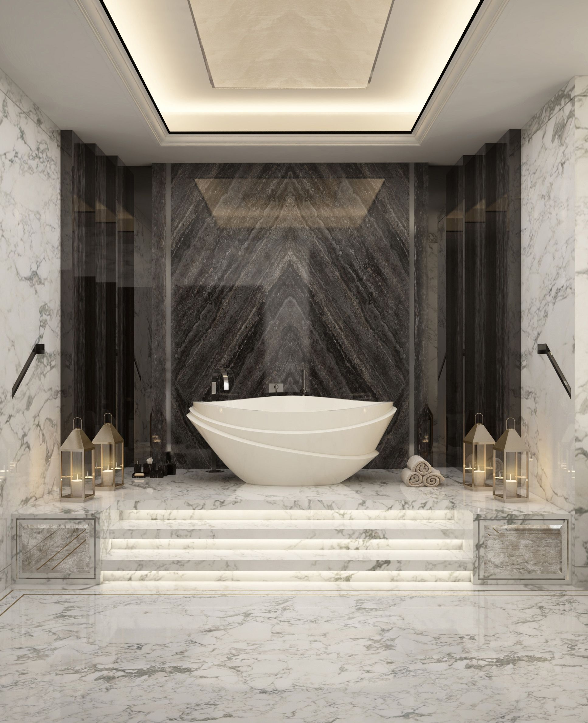 Luxury Design Motor Yachts Master Bedroom Luxury Design Mandala Luxury Design Lu Modern Luxury Bathroom Luxury Bathroom Master Baths Bathroom Design Luxury