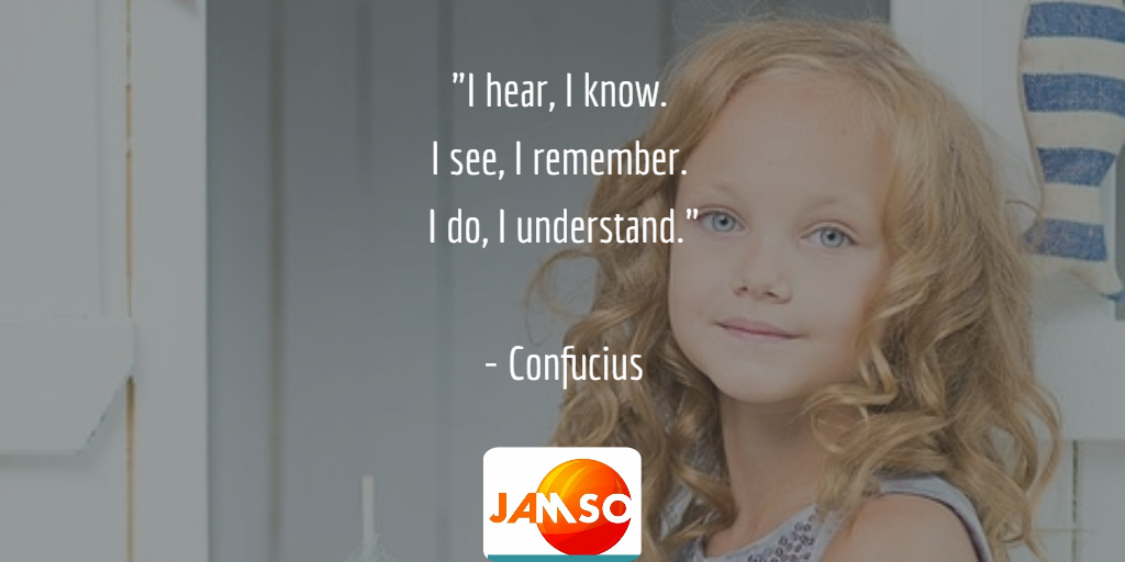 """I hear, I know.  I see, I remember.  I do, I understand.""  - Confucius  #quotes #leadership #edtech"