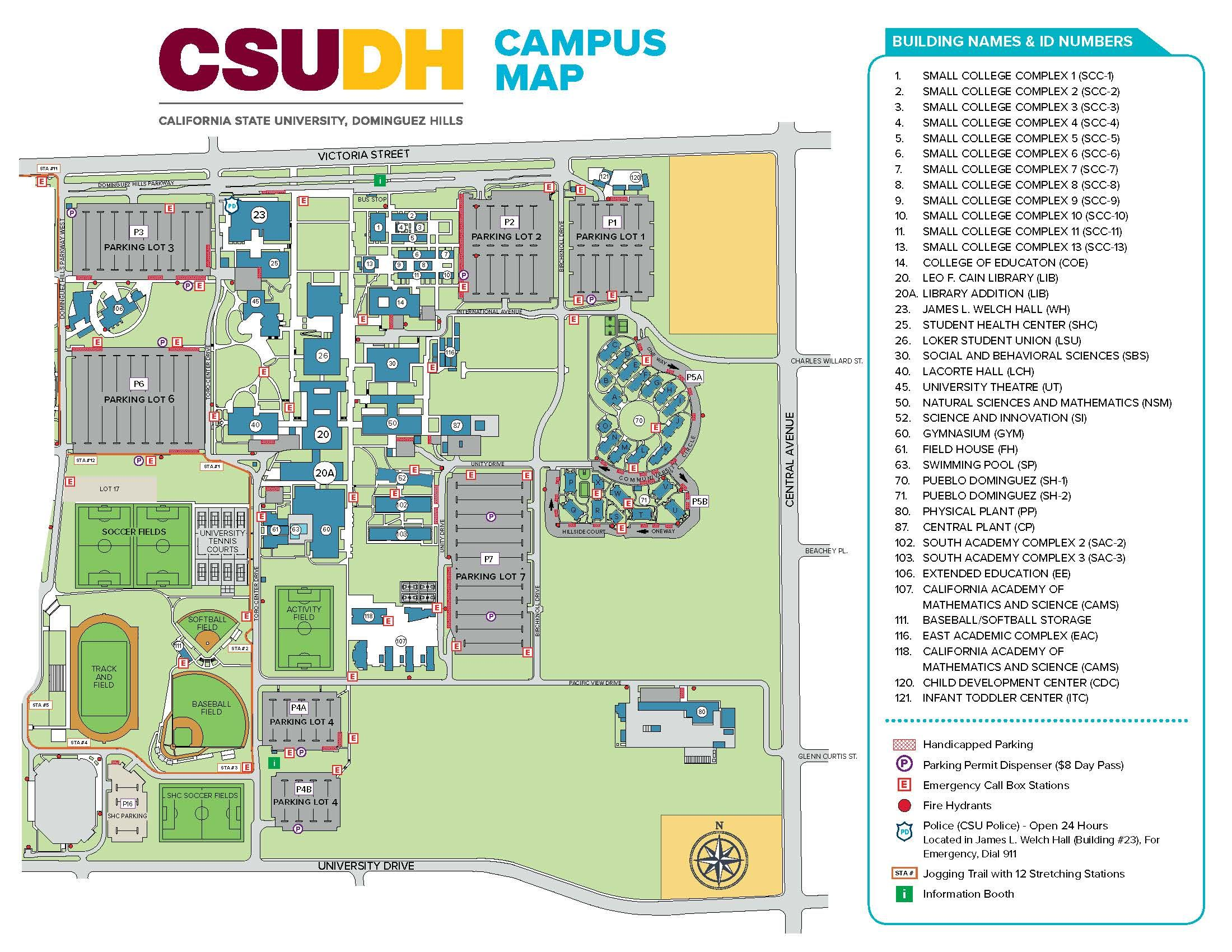 olympic college campus map Csudh Map From Csudh 3 Campus Campusmap Csudh California olympic college campus map