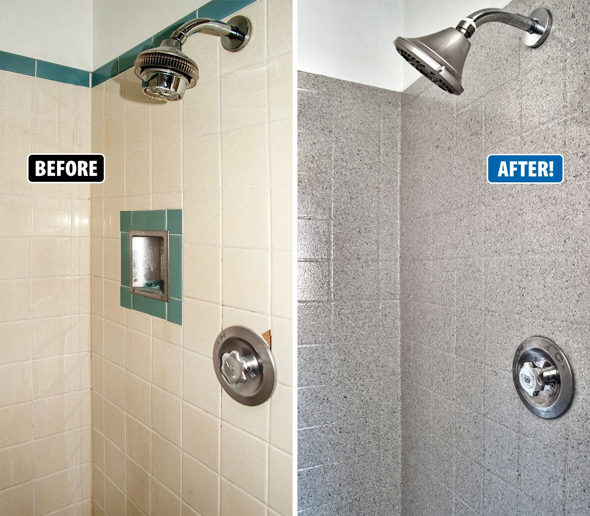 Miracle Method Surface Refinishing Can Repair Old Damaged Tile