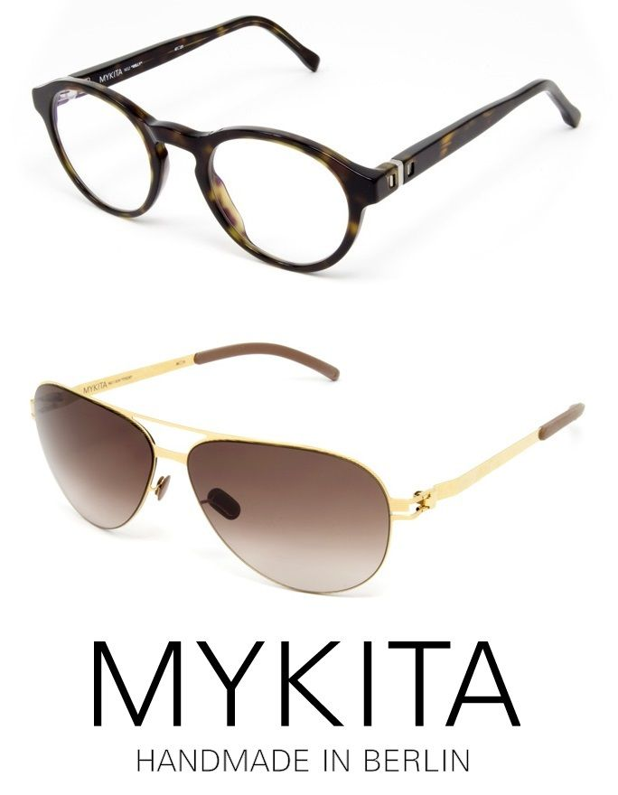 mykita frames and sunglasses with a unique snap hinge forged from top quality stainless steel - Mykita Frames