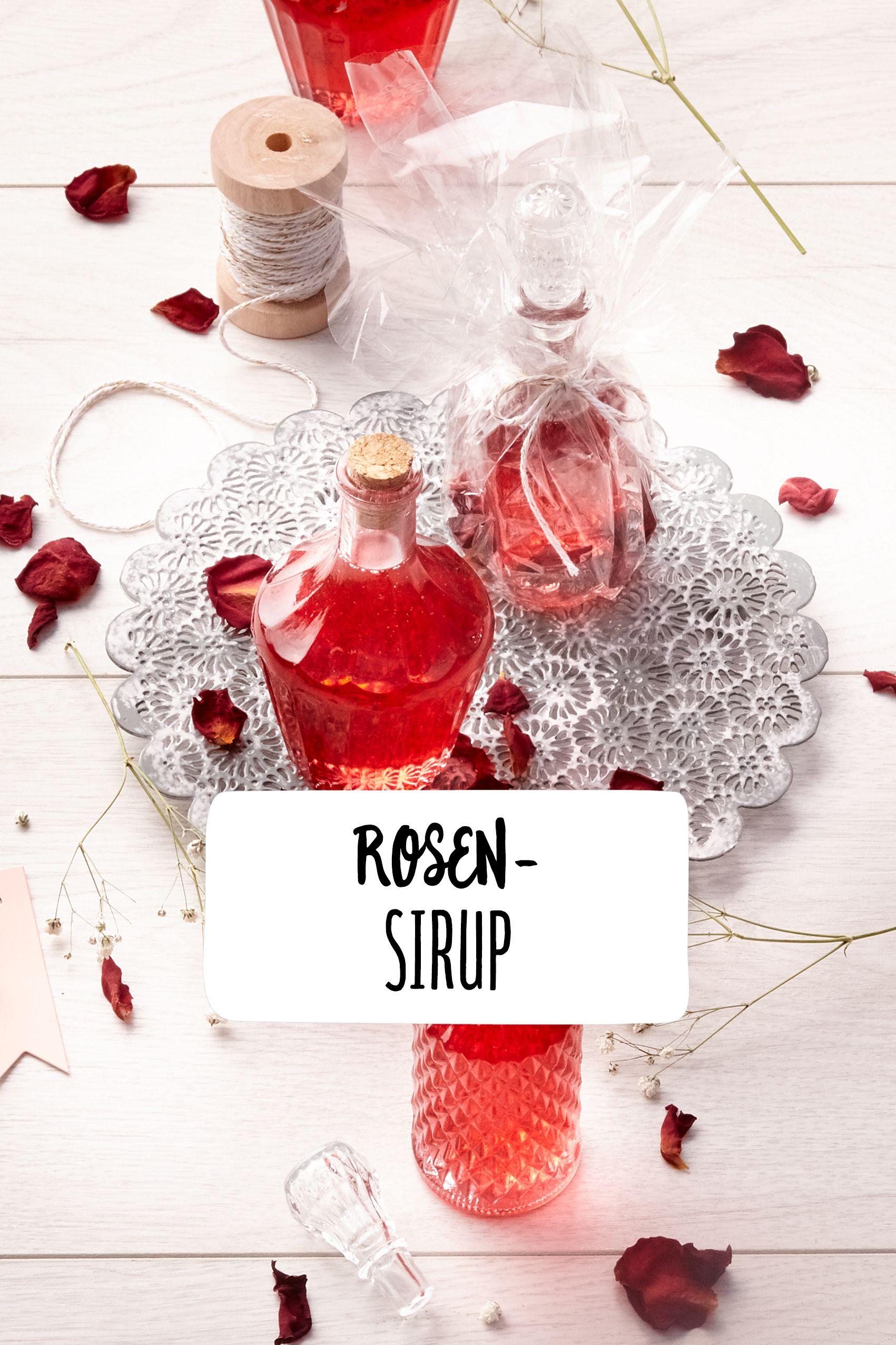 Rosensirup Drink Rosen Sirup Alkoholfrei Limonade Limonade Sommergetranke Rosensirup Rosen Sirup Alkoholische Getranke