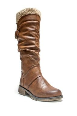 Darla Faux Leather Tall Boot