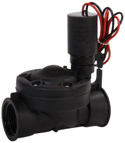Galcon 3652 1inch Sprinkler Valve With S1602 Dc Latching Solenoid For Battery Operated Controllers Y Sprinkler Valve Irrigation Controller Irrigation Valve
