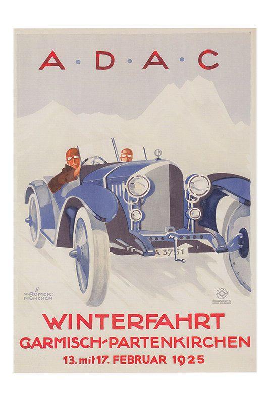 Classic Art Deco Poster Ikea Ribba Size Art Deco P VINTAGE GRAND PRIX Poster