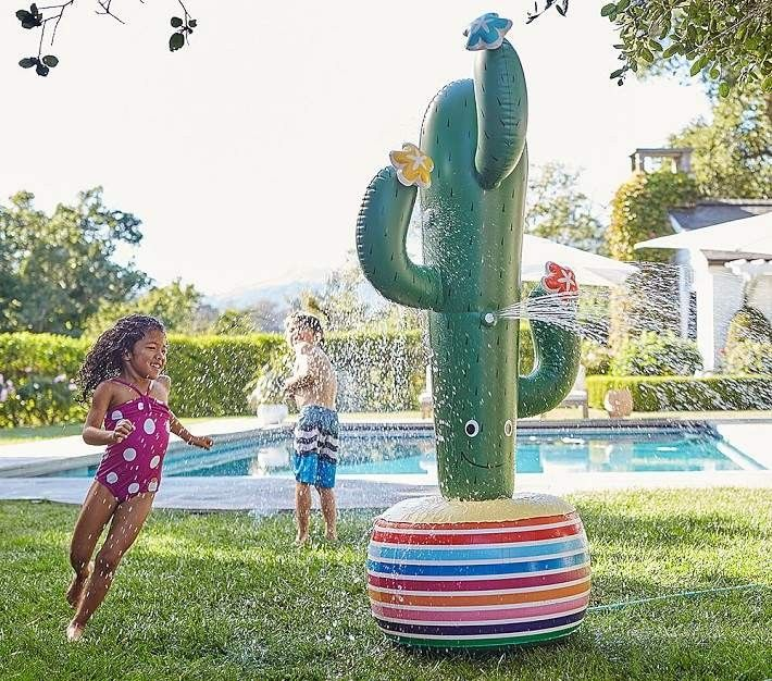 Cactus Fountain Affiliate Sprinkler Water Toys