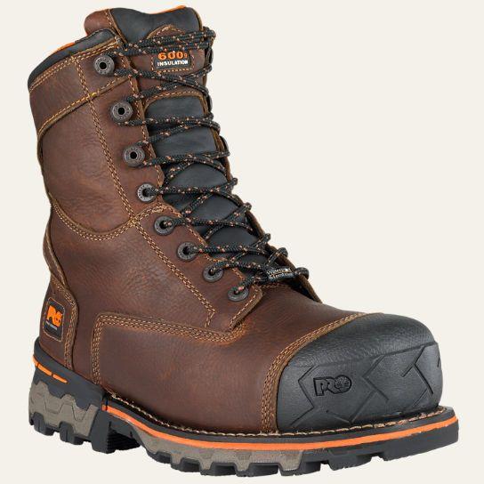 Men S Timberland Pro 174 Boondock 8 Quot Soft Toe Work Boots