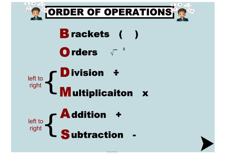 small resolution of 38 Math Worksheets Grade 7 Order Of Operations   Order of operations