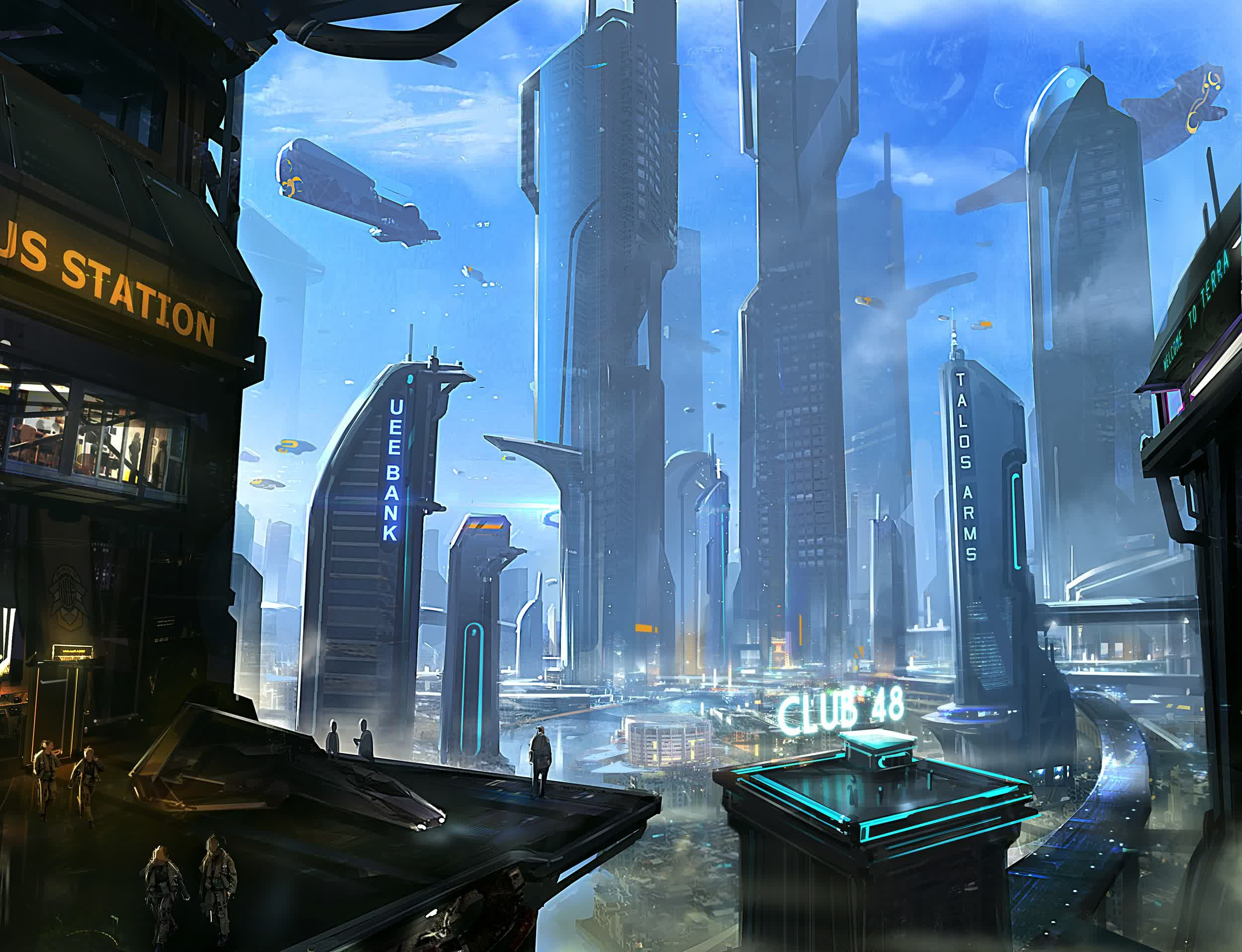 Star Citizen concept art | RPG Landscape | Pinterest ...