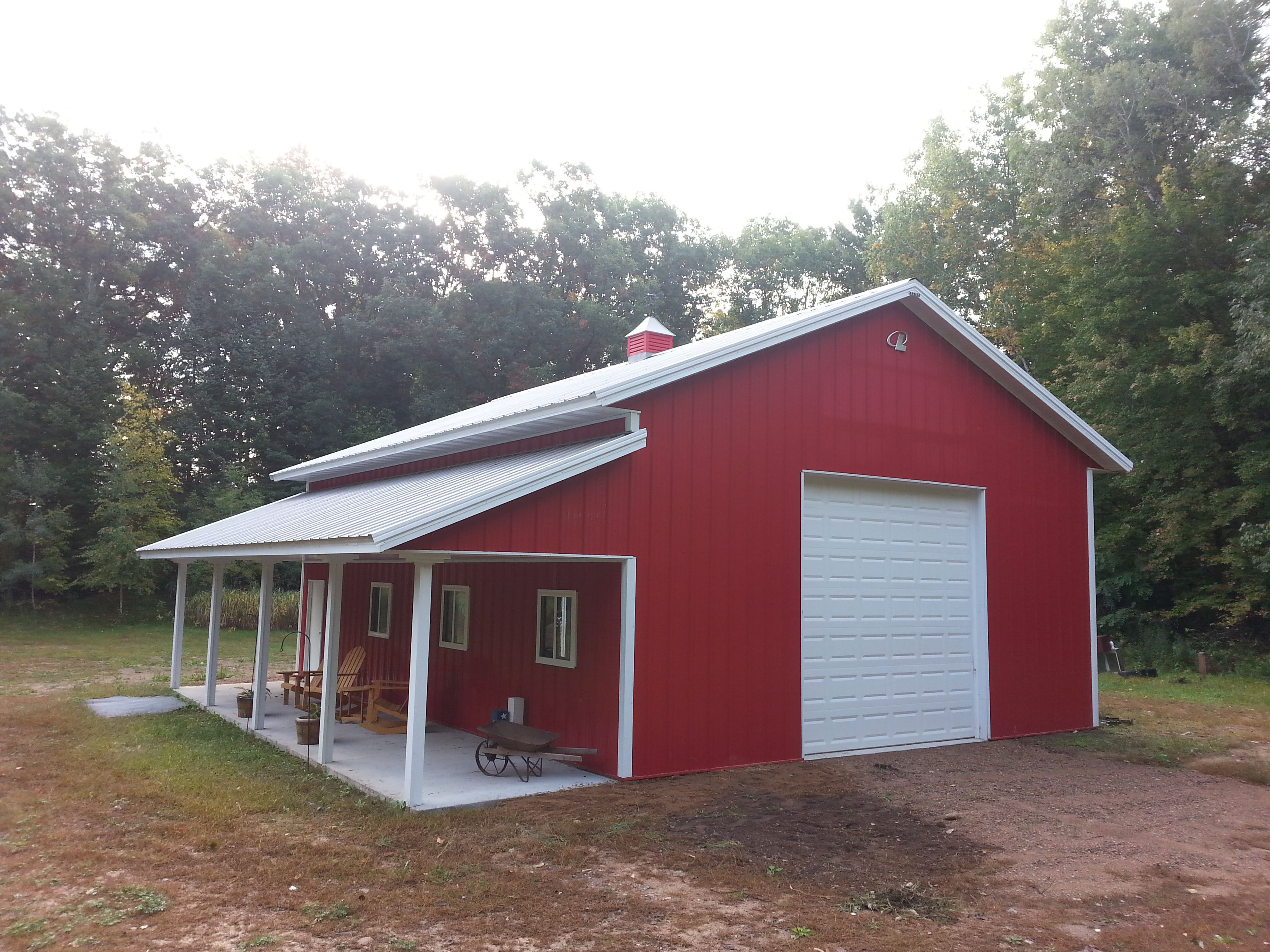I want this lester building shop buildings pinterest for Red barn prefab