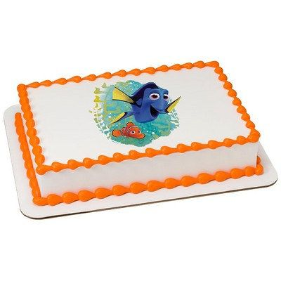 Finding Dory Ocean, Here We Come! Edible Cake Topper (With