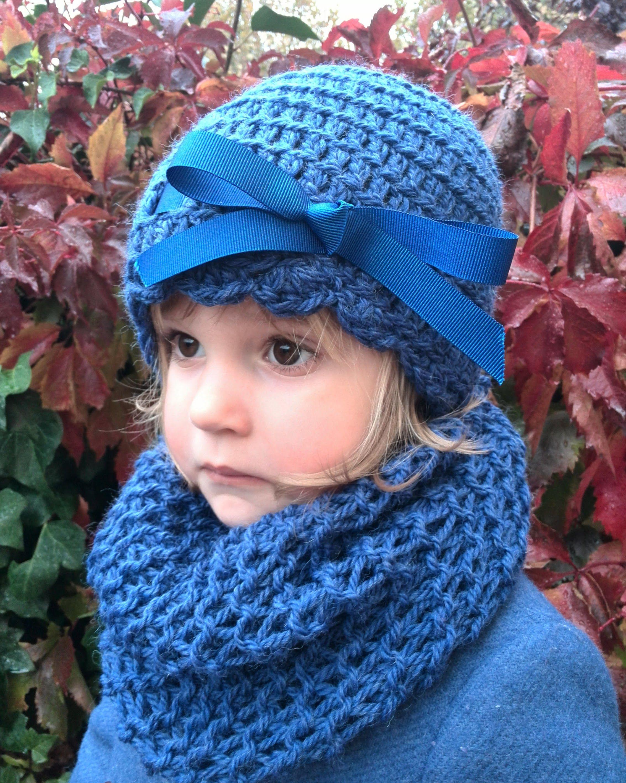 Comprar gorro lazo ni a de 3 a 6 a os de lana azul n for Imagenes de gorros de lana