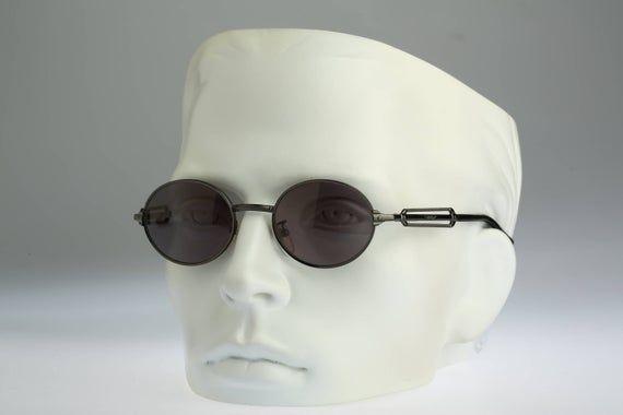 Small round sunglasses men, Police 2282 568, Vintage 90s unique circle steampunk sunglasses women NO