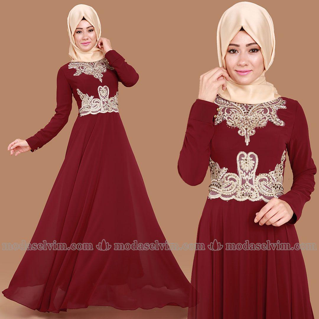 En Sik Abiye Https Www Modaselvim Com Tesettur Abiye Elbise Bu Linkten Diger Modelleri Inceleyebilir Ve Siparis V Kadin Kiyafetleri Musluman Modasi Elbiseler
