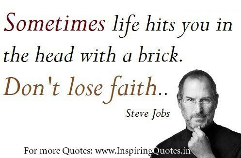 Steve Jobs Quotes Inspiring Quotes Inspirational Motivational Quotations Thoughts Suvichar Anmol Vachan Faceboo Steve Jobs Quotes Job Quotes Steve Jobs
