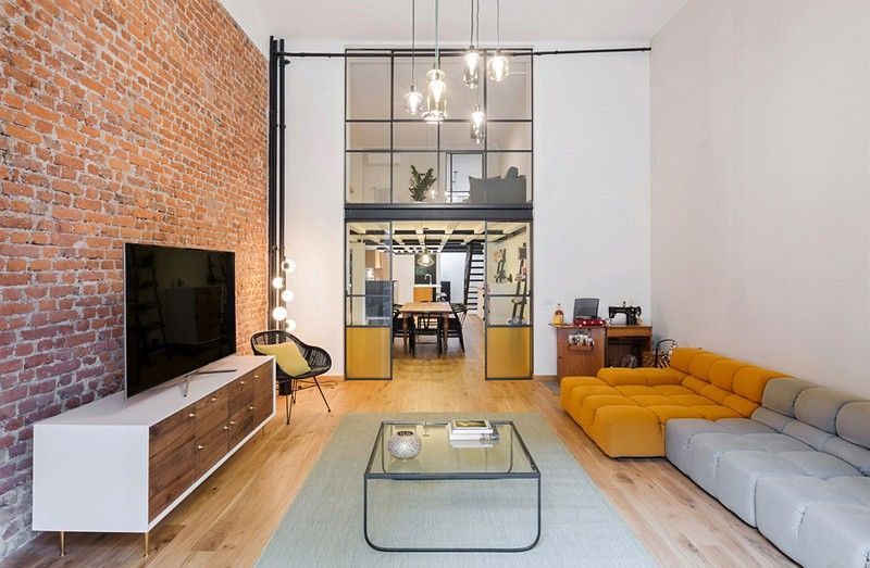 The Shoreditch loft is the result of the conversion of an industrial building, the loft par excellence, in one of the most fashionable areas ..  LOFT