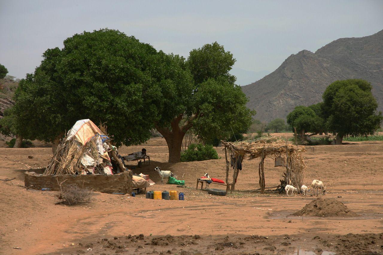 il villaggio contadino di Assudi