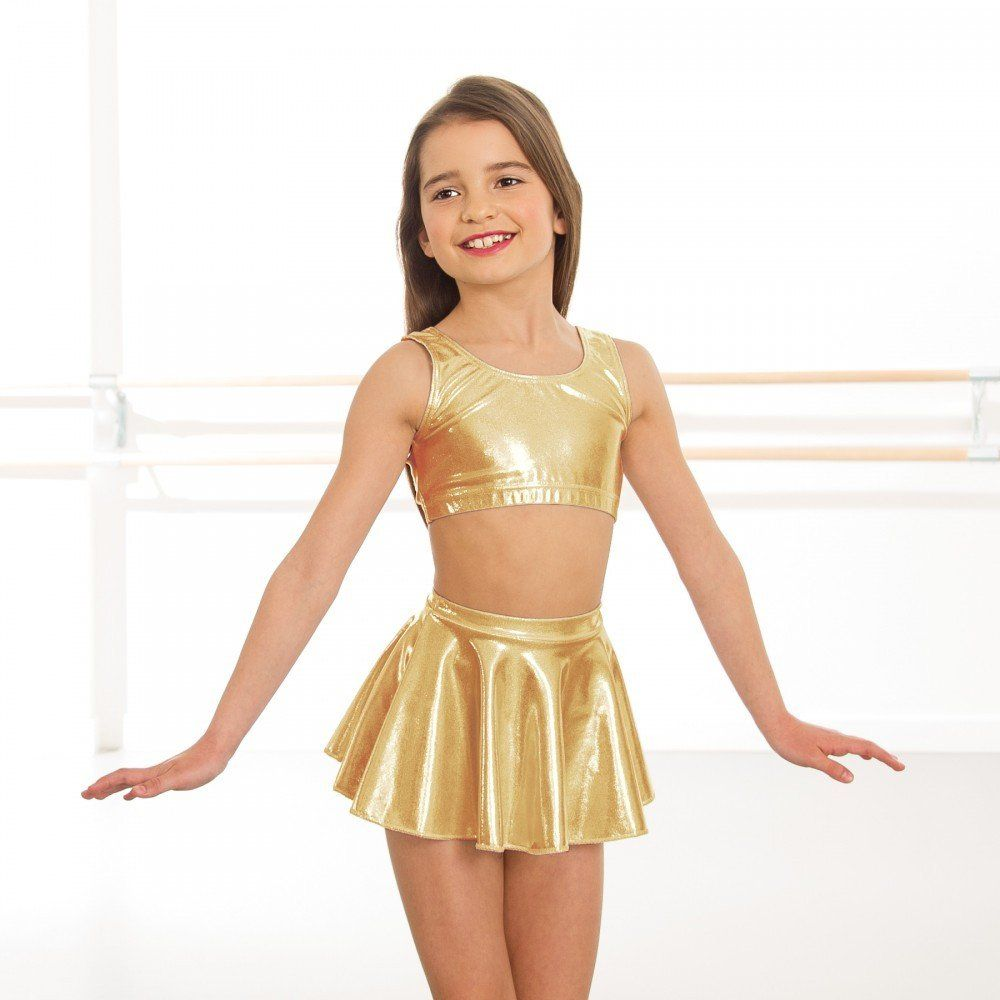 fa220710080 1st Position Metallic Circular Skirt dazzle-dancewear.co.uk ...