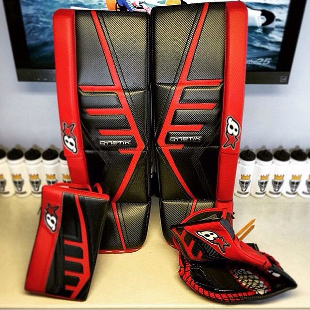 Red & Black G-Netik Pro ll setup from Brian's Custom Sports  Would
