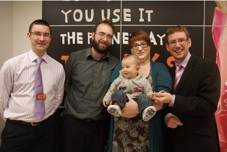 Harrison Ansell voted Courier cutest Baby and Toddler of the Year