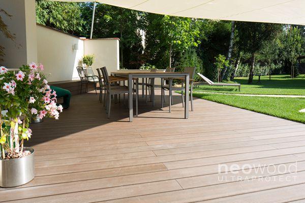 Terrasse jardin patio bois composite Nantes 44 | Jardins ...