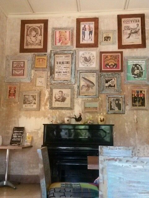Indie Cology Cafe Gallery Wall Cafe Home Decor