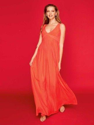 Maxikleid langarm schnittmuster – Stylischer Kleider
