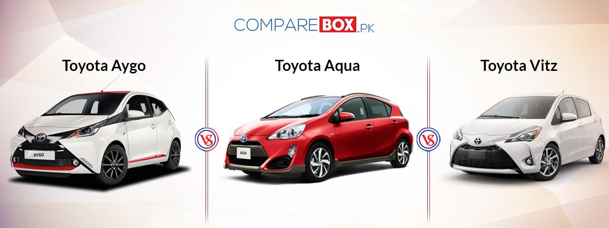 Toyota Aygo Vs Toyota Aqua Car And Vitz Car Toyota Aygo Toyota