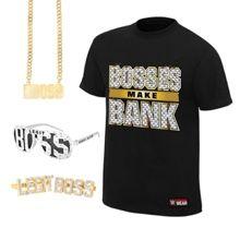 sasha banks bosses make bank youth t shirt package halle s 12th