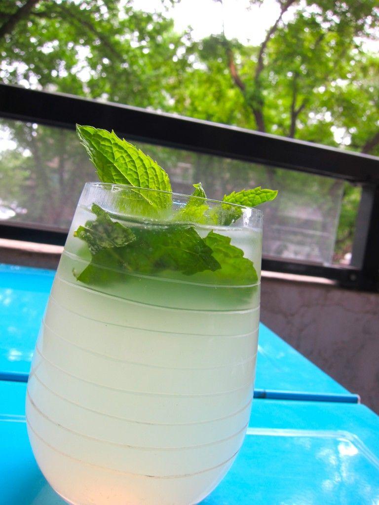 Bourbon Mint Lemonade