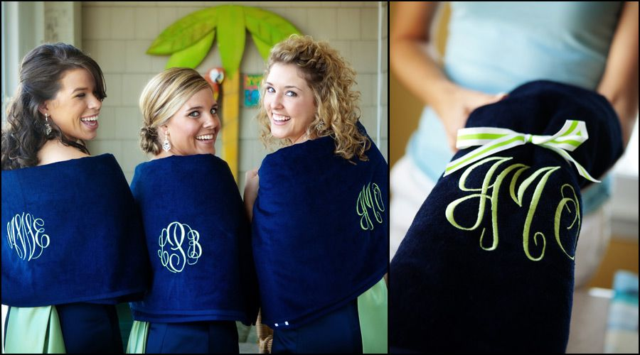 A Great Gift For The Bridesmaids At Beach Wedding