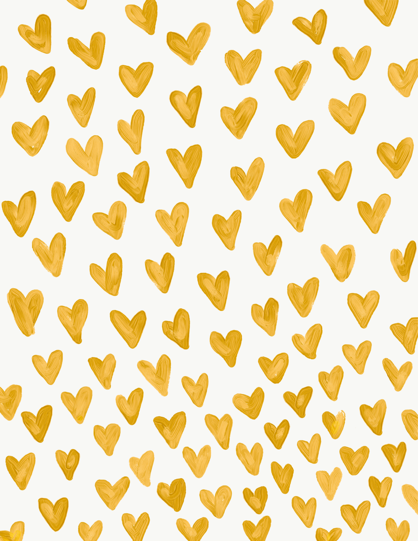 Yellow Hearts Wallpaper Made By Me Heart Wallpaper Iphone Wallpaper Yellow Yellow Heart