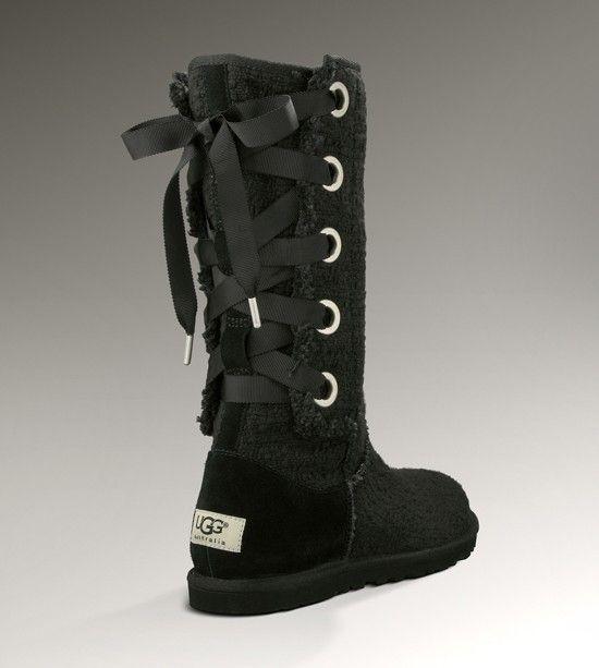 3e0bb5c23a9 Uggs! Love the lace up back :) | its a girl thing... | Ugg boots ...