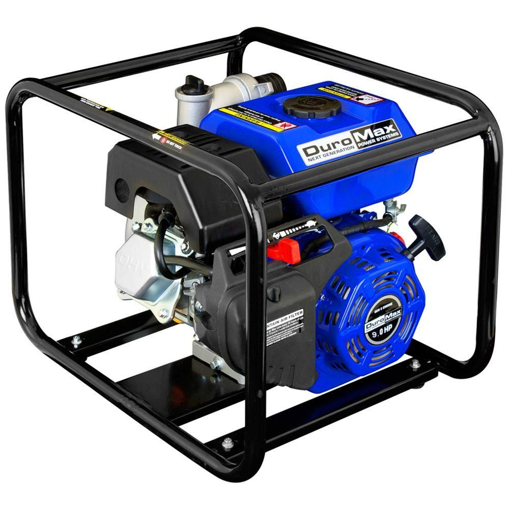 Duromax 9 HP 4 in. Utility Gas Powered Water Pump