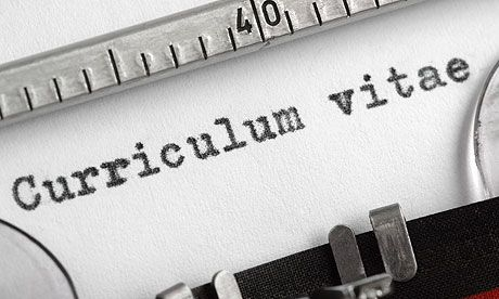 How do you make sure your CV is saying the right things about you - academic cv