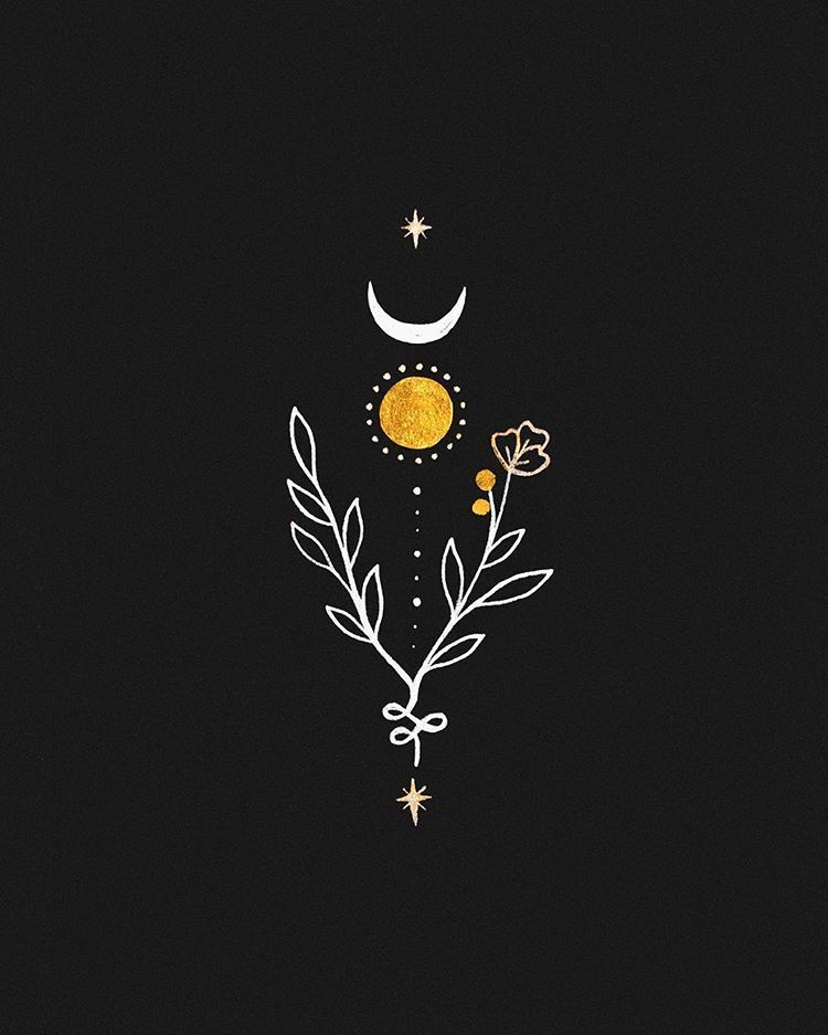 "Ameya ☾ on Instagram: ""✦ life force ✦ this is available as a tattoo design"