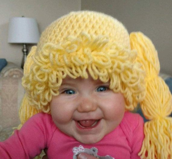 Cabbage Patch Hat by Mudntiarras on Etsy
