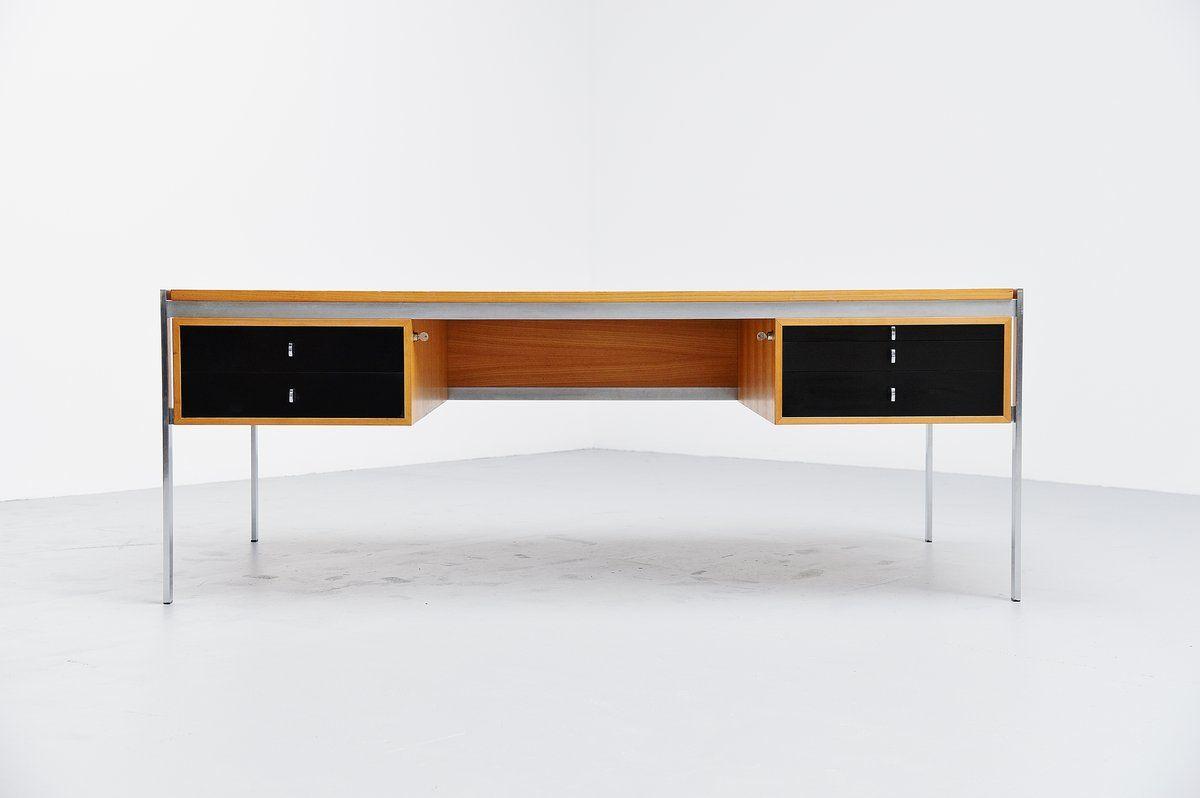 Preben Fabricius & Jorgen Kastholm Kill international desk 1960 (for materials play and proportions)