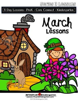 March+Lesson+Plans+Series+3+[Four+5-day+Unit]+Includes+Patterns+and+Printables+259+pages+In+March+we+learn+about+Fairy+Tales+and+Fables.+We+will+spend+a+week+on+St.+Patrick's+Day+fun+and+in+our+third+week+we+study+the+signs+of+spring.+We+end+the+month+studying+the+desert.