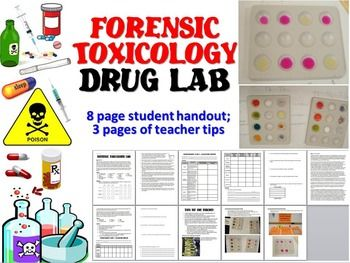 forensic toxicology drug lab forensic science forensics and student learning. Black Bedroom Furniture Sets. Home Design Ideas