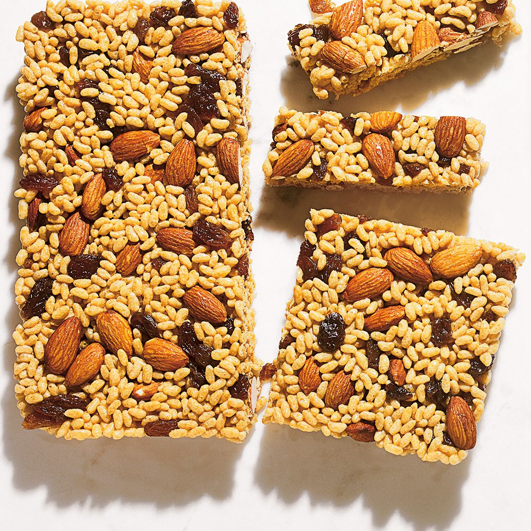 Puffed Rice Bars Recipe Puffed Rice Afternoon Snacks Healthy