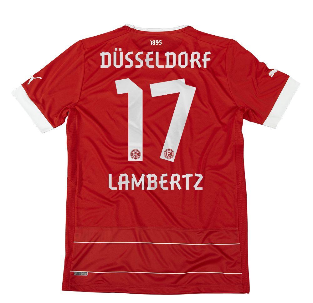 Fortuna Düsseldorf (Germany) - 2012/2013 Puma Home Shirt (#17 - Lambertz)