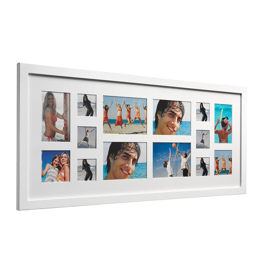 14 aperture gallery multi photo frame by authentics 14 aperture gallery multi photo frame by authentics notonthehighstreet jeuxipadfo Images