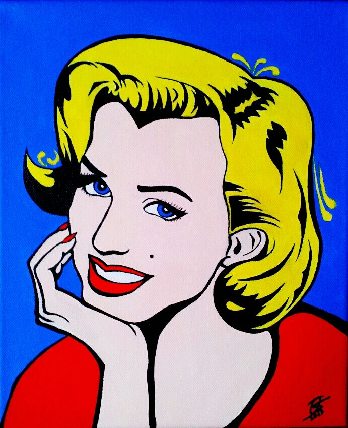 marilyn monroe pop art by olilolly11 on deviantart this image first pinned to marilyn monroe. Black Bedroom Furniture Sets. Home Design Ideas