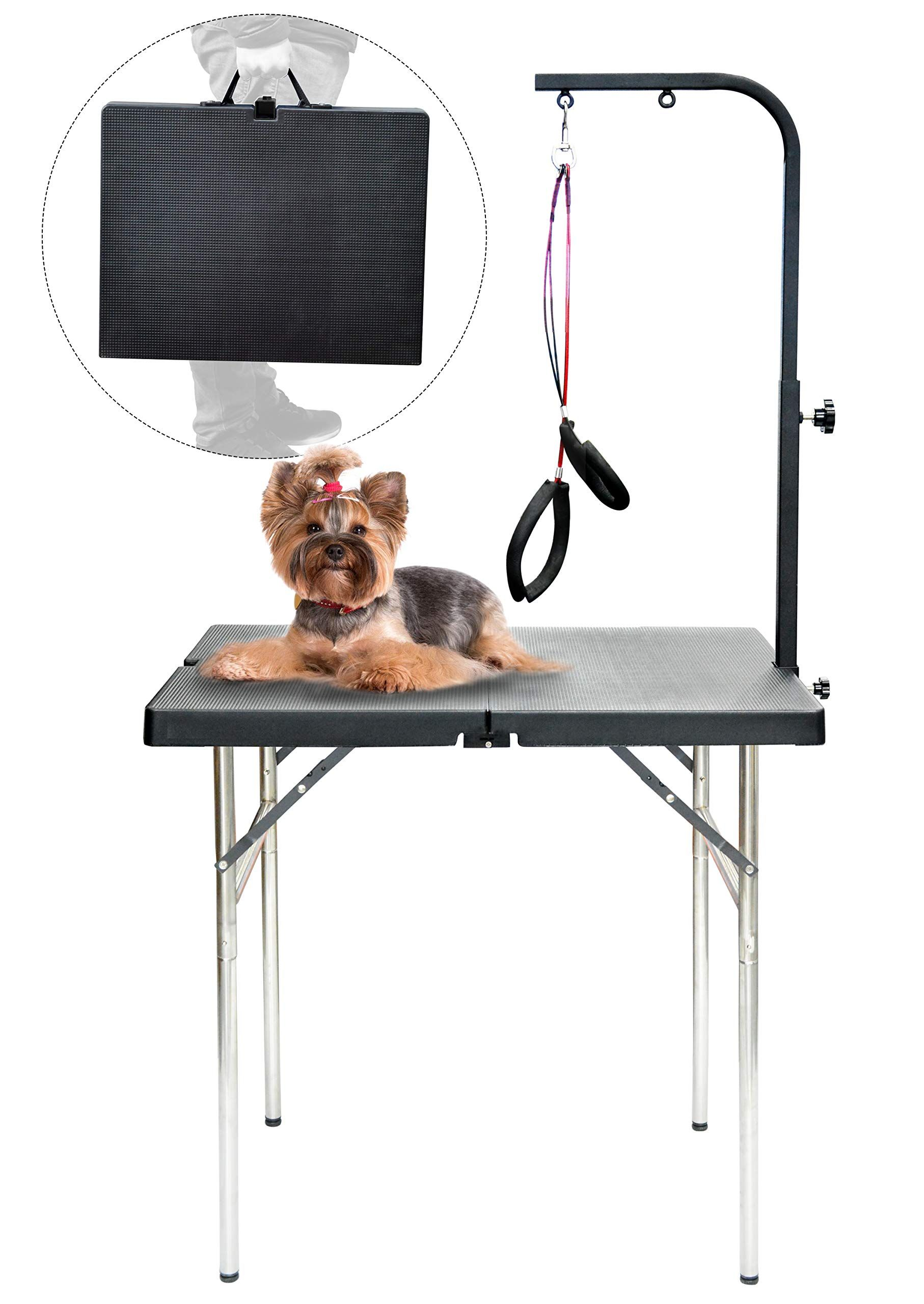 Shelandy Pet Portable Grooming Table In 2020 Pet Dogs Dog Grooming Pets