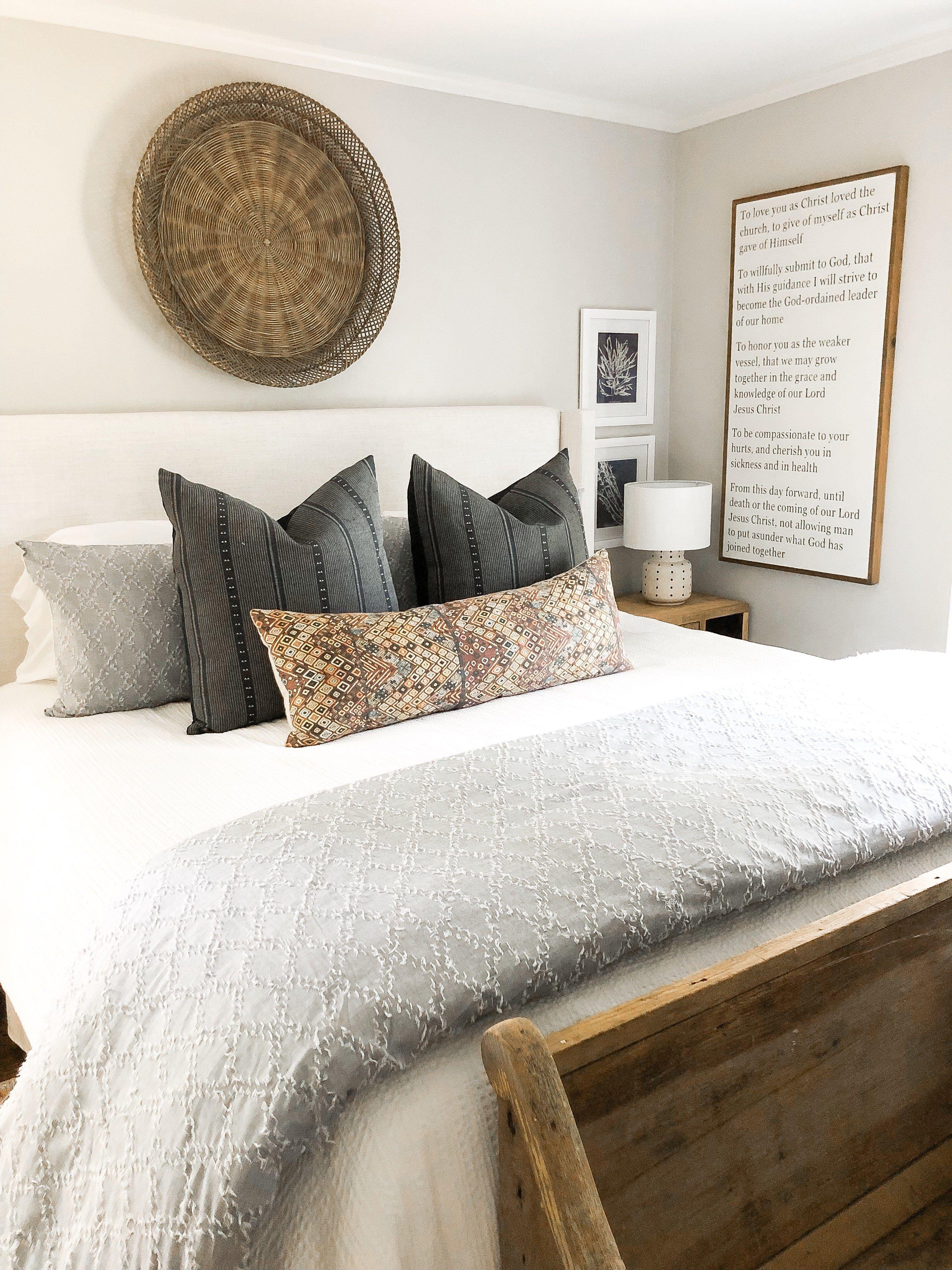 Easy Breezy Summer Bedroom With Walmart Master Bedrooms Decor Master Bedroom Remodel Remodel Bedroom